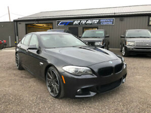 2011 BMW 5-Series 550i xDrive M-Sport Sedan - Nav, camera