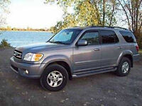 2002 Toyota Sequoia limited 4x4