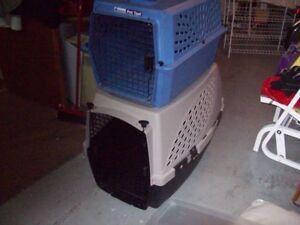 grande et petite cage ppour chien