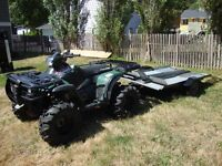 2006 polaris sportsman 700 twin and trailer