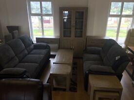 Brand new**Stunning 3+2 black and grey Tara suites ONLY £525---CALL TODAY!!!