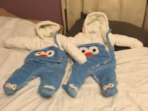Brand new snowsuits