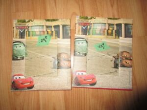 Disney Cars picture frame X 2