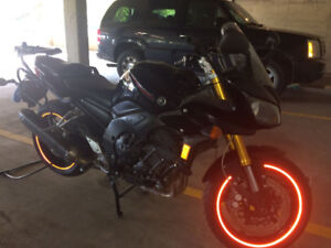Yamaha FZS1000 sport touring with Givi hard cases &many upgrades
