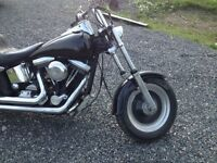 Harley softail, great shape 7000 or trade for camper trailer