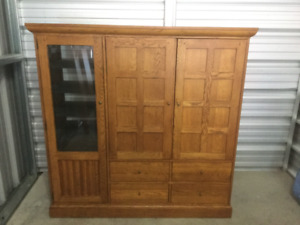Entertainment, hutch, cabinet, shelf unit, tv table, display