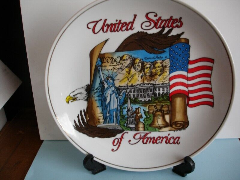 United States of America Wall Plate 1992