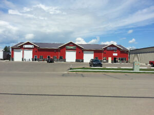 FOR LEASE: COTTONGRASS PLACE - Great Retail/Shop in Lacombe!