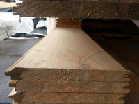 1x8 V-Joint Tongue & Groove  -  CLEARANCE LUMBER SALE