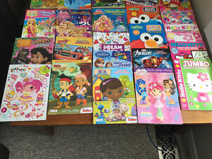 New! Assorted kids acitiviy and paint with water books Kitchener / Waterloo Kitchener Area image 5