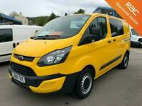 Ford Transit Custom 2.0TDCi 130PS 340 L1 Window Van With TailGate * 1 AA Owner *