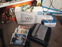Wii console plus accessories