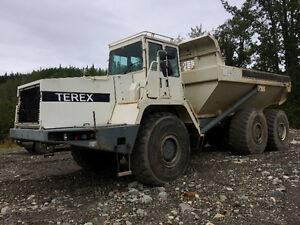 1996 Terex 4066C Articulated dump truck for sale. Prince George British Columbia image 2