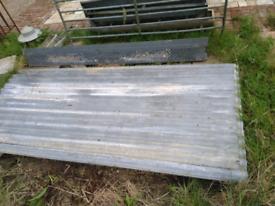 corrigated sheets x11 galvanized metal