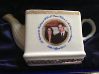 Prince William and Kate Collectible Teapot