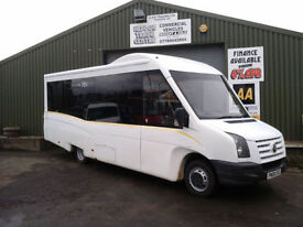 Volkswagen CRAFTER Welfare/disability13 seater minibus **direct ex council**