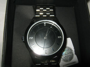 NEW Mens Watch with Swarovski Crystals