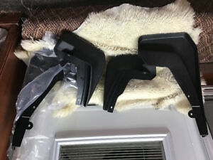 Land rover mud guards new