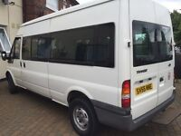 15 seater ford transit minibus