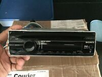 Sony CDX stereo with front aux port