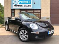 2008 VOLKSWAGEN BEETLE 1.6 LUNA CONVERTIBLE, HEATED LEATHER, PARKING SENSORS