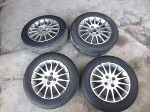 """Acura EL (civic) 15"""" Aluminum rims , 4x100 mm bolt pattern"""