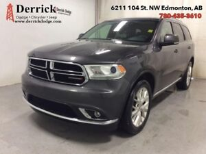 2016 Dodge Durango Used AWD Ltd 8.4 Screen Nav Sunroof $218 B/W