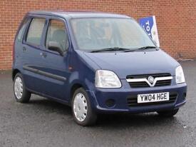 2004/04 Vauxhall Agila 1.0i 12v Expression, 12 months mot, low mileage