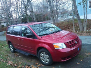 WheelChair AccessibleVan - 2010 Dodge Caravan Minivan, Van