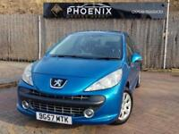 2007 (57) PEUGEOT 207 1.4 M:PLAY 3 DOOR HATCHBACK