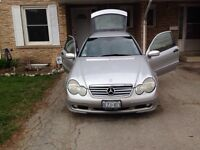 Mercedes c230 turbo $4000 or $ 4565 with safety!!