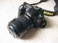 Nikon D90 with 2 Lenses
