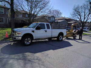 Ford 350 diesel /wood chipper