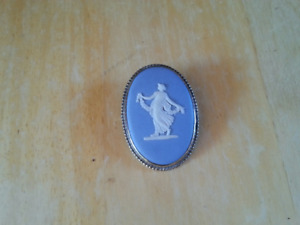 Wedgewood porcelain brooch