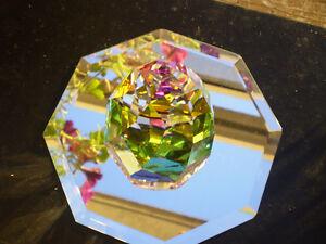 "Swarovski Crystal "" Rio Cone Paperweight "" #7452 Kitchener / Waterloo Kitchener Area image 6"
