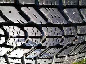 4 Winter tires for sale Peterborough Peterborough Area image 2
