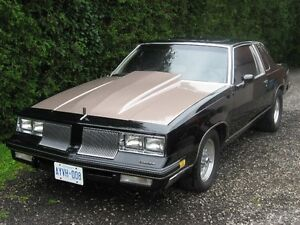 1981 olds cutlass with old 455 engine