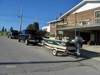 Almost New, Boat, Motor and Trailer