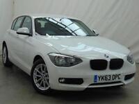 2013 BMW 1 Series 116D SE Diesel white Manual