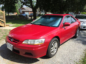 2001 Honda Accord EX V6 VTEC Coupe (2 door)