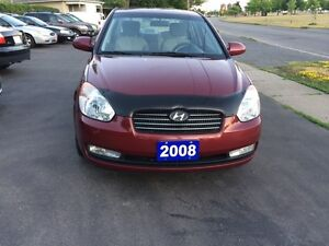 2008 Hyundai Accent  Safety and Etest