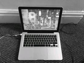 Macbook 2008 model. It's Shiny!!
