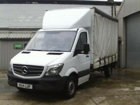 Mercedes-Benz Sprinter SPRINTER 313CDI LONG DIESEL 3.5t Luton CURTAIN SIDE (201