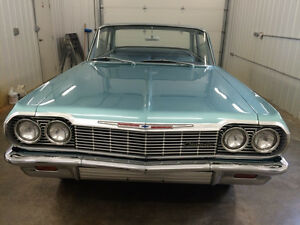 1964 409 Biscayne 2 dr Post
