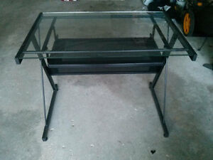 Desk and chair $50