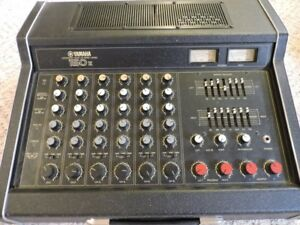 YAMAHA POWERED MIXER /PA