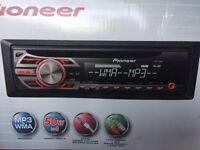 Pioneer DEH-150MP headunit! 1 week old!!