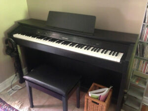 Casio piano Cleviano AP 450 great condition, like new.