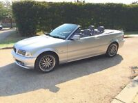 BMW 318 SE CONVERTIBLE AUTO.SAT NAV ..ONLY DONE 47K WITH HISTORY.LEATHER..DRIVES LIKE NEW