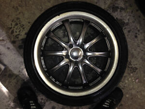 Ruff Racing rims with extra set of tires